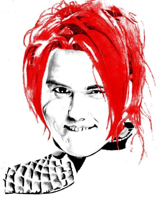 Gerard Way par REDDEVIL